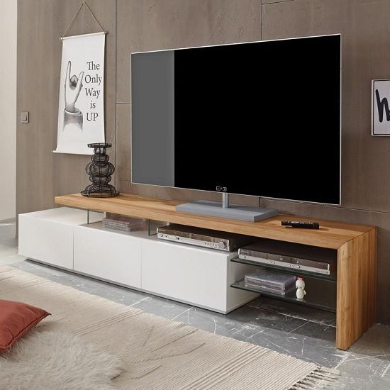17 Outstanding Ideas For Tv Shelves To Design More Attractive Living In Preferred Marvin Rustic Natural 60 Inch Tv Stands (Image 1 of 25)