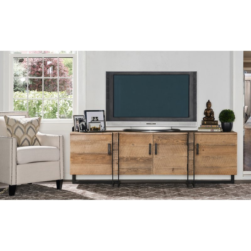 "17 Stories Walton Tv Stand For Tvs Up To 78"" & Reviews (View 1 of 25)"