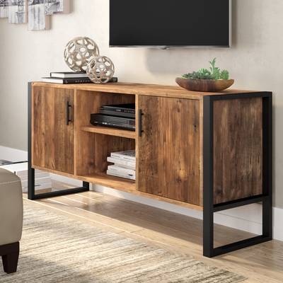 "17 Stories Walton Tv Stand For Tvs Up To 78"" & Reviews (View 11 of 25)"