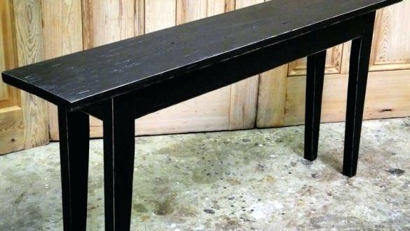 20 Inch Console Table Oak Brass Stacking Media Console 20 Cm Deep With Regard To Latest Oak & Brass Stacking Media Console Tables (Image 1 of 25)