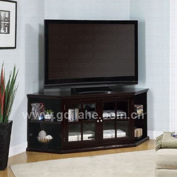 2014 Glass Door Corner Tv Stand Cabinet,mobile Corner Tv Cabinet For Recent Corner Tv Cabinets With Glass Doors (Photo 11 of 25)
