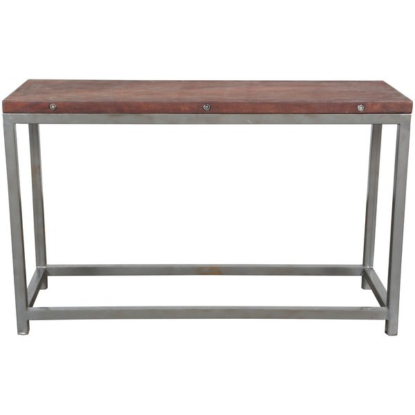 2017 Frame Console Tables with Shop Handmade Wanderloot Industrial Reclaimed Wood Console Table