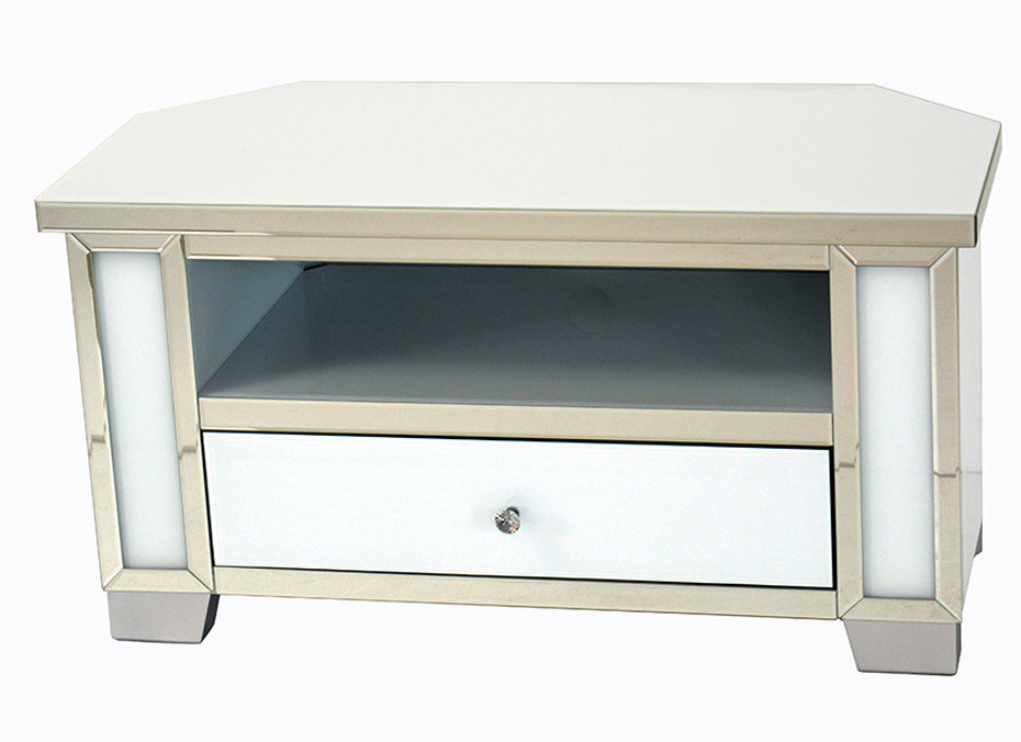 2017 Mirrored Furniture Tv Unit Within Mirrored Glass Tv Unit (Image 2 of 25)