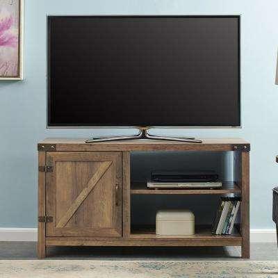 2017 Oak Furniture Tv Stands For Oak – Tv Stands – Living Room Furniture – The Home Depot (Image 1 of 25)