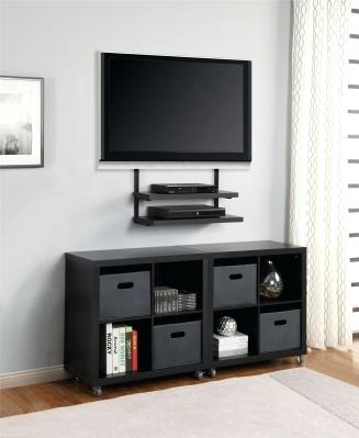 2017 Small Tv Stands On Wheels With Regard To Nebraska Furniture Mart Tv Stands Forge Credenza In Cherry Furniture (Photo 23 of 25)