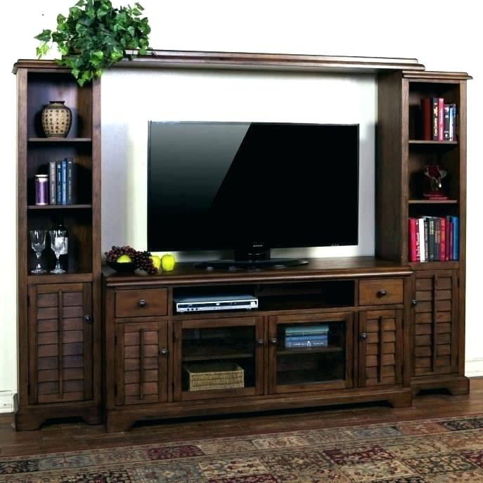 2017 Wall Mounted Tv Racks With Regard To Wall Mounted Tv Cabinet With Doors Wall Mounted Flat Screen Cabinet (Image 2 of 25)