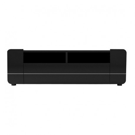 2018 Black Gloss Tv Stands Pertaining To Bump  Black Gloss Tv Stand With Led Lights – Tv Stands (1754) – Sena (Image 1 of 25)
