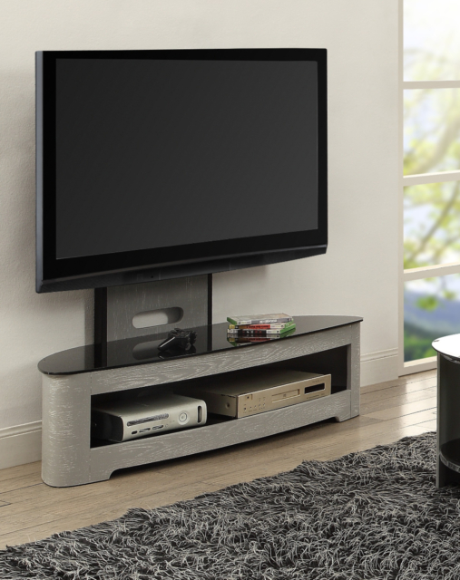 2018 Cheap Cantilever Tv Stands for Jual Furnishings Jf209 Grey Ash Cantilever Tv Stand With Bracket Up