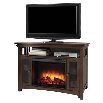 """2018 Dixon White 58 Inch Tv Stands Intended For Whittier Tv Stand For Tvs Up To 60"""" With Fireplace & Reviews (Image 1 of 25)"""