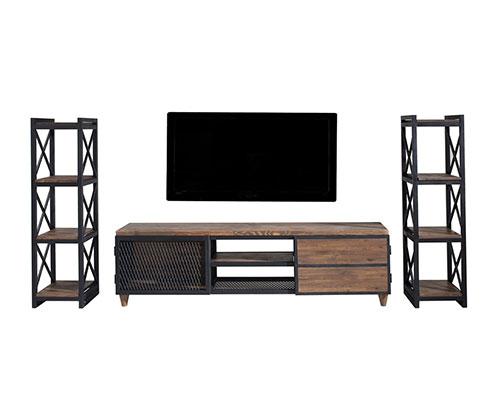 2018 Ducar 74 Inch Tv Stands For Tv Ünitesi Modelleri Ve Televizyon Sehpası Fiyatları – Vivense Mobilya (Image 3 of 25)