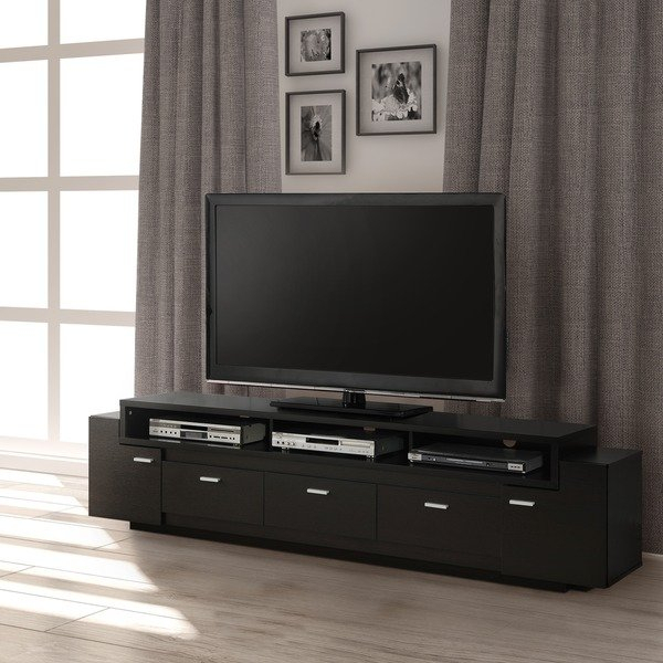 2018 Ducar 84 Inch Tv Stands Intended For Shop Porch & Den Hubbard 84 Inch Tiered Tv Stand – On Sale – Free (Image 1 of 25)