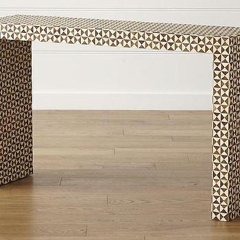 2018 Intarsia Console Tables Inside Triangle Design Console Table – Products, Bookmarks, Design (Image 3 of 25)