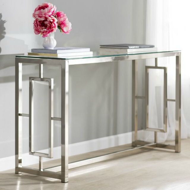 2018 Intarsia Console Tables Pertaining To 13 Pretty Console And Entry Tables For Your Home (Image 4 of 25)