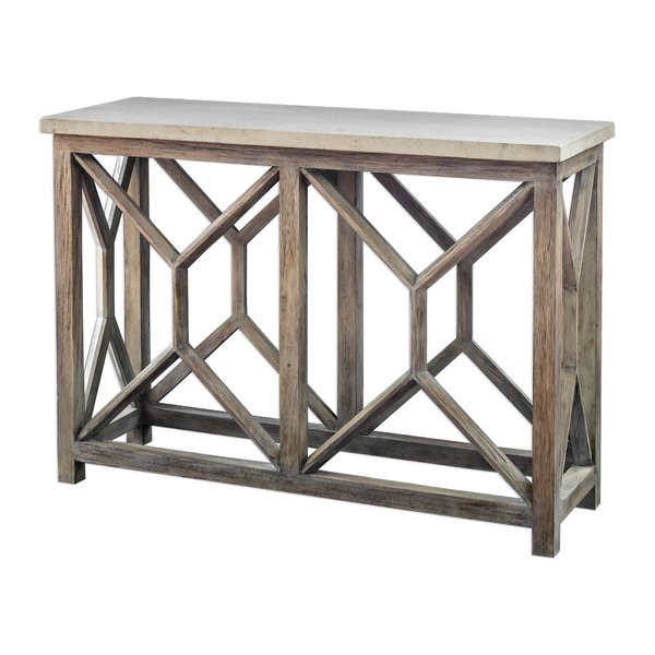 2018 Mix Agate Metal Frame Console Tables Throughout Console Table With Stone Top (Image 1 of 25)