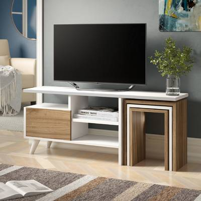 "2018 Preston 66 Inch Tv Stands Inside Brambly Cottage Andreas Tv Stand For Tvs Up To 48"" & Reviews (Image 2 of 25)"