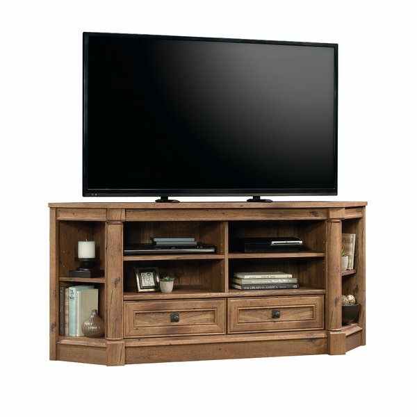 2018 Unique Corner Tv Stands Within Corner Tv Stands You'll Love (Image 2 of 25)