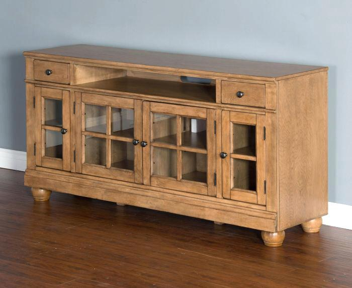 2018 Walton 74 Inch Open Tv Stands Intended For 74 Tv Console Harbor View Linen Entertainment Wall With Console (Image 2 of 25)