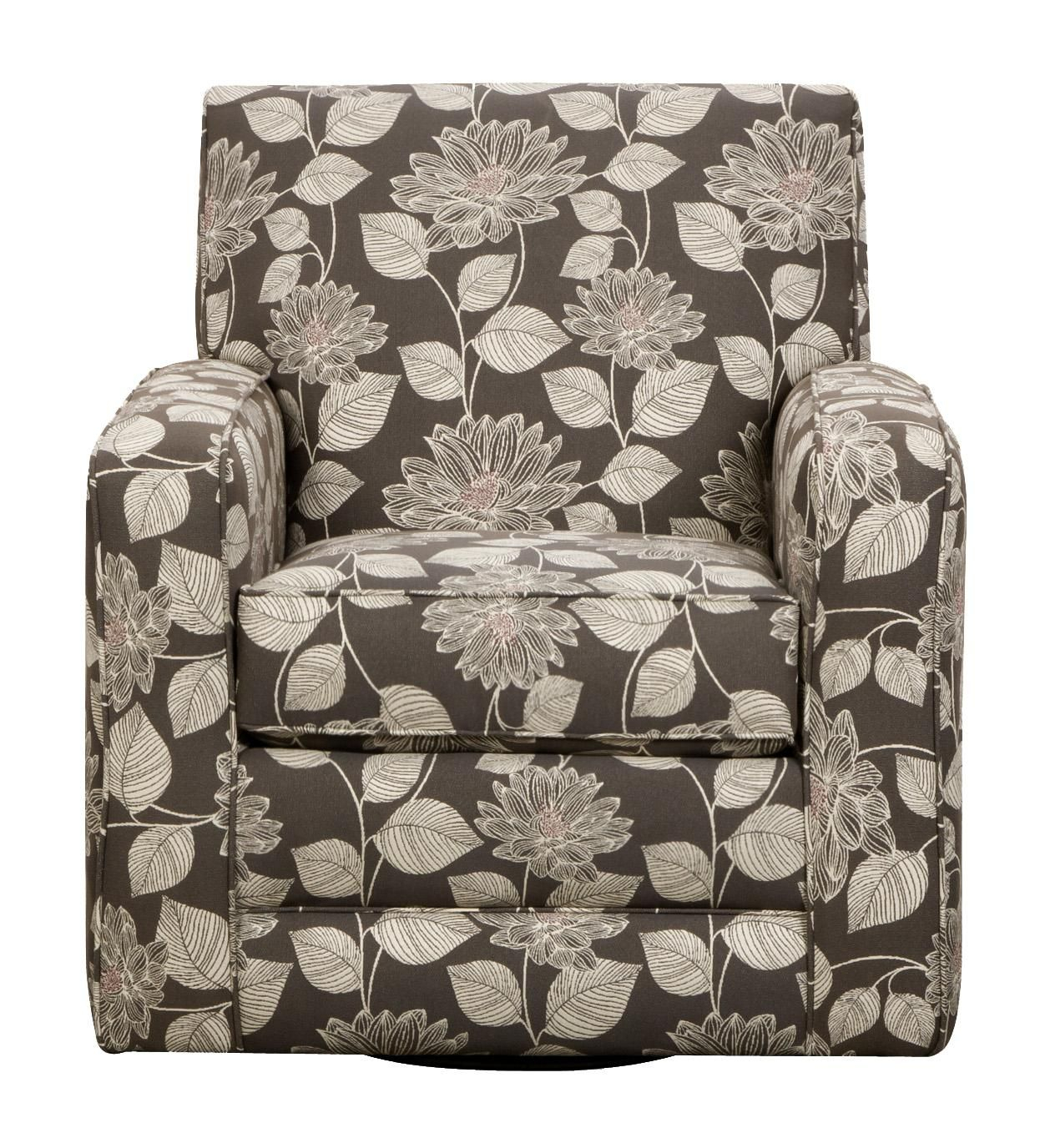 29A0 Swivel Accent Chaircorinthian | Ideas For Eddie Living Room For Harbor Grey Swivel Accent Chairs (Image 1 of 25)