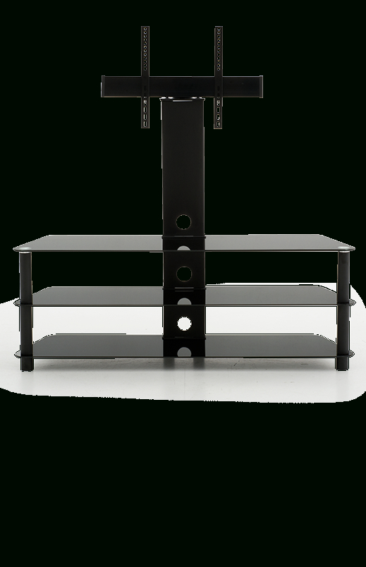 3 Glass Shelves Tv Stand –  (Image 1 of 25)
