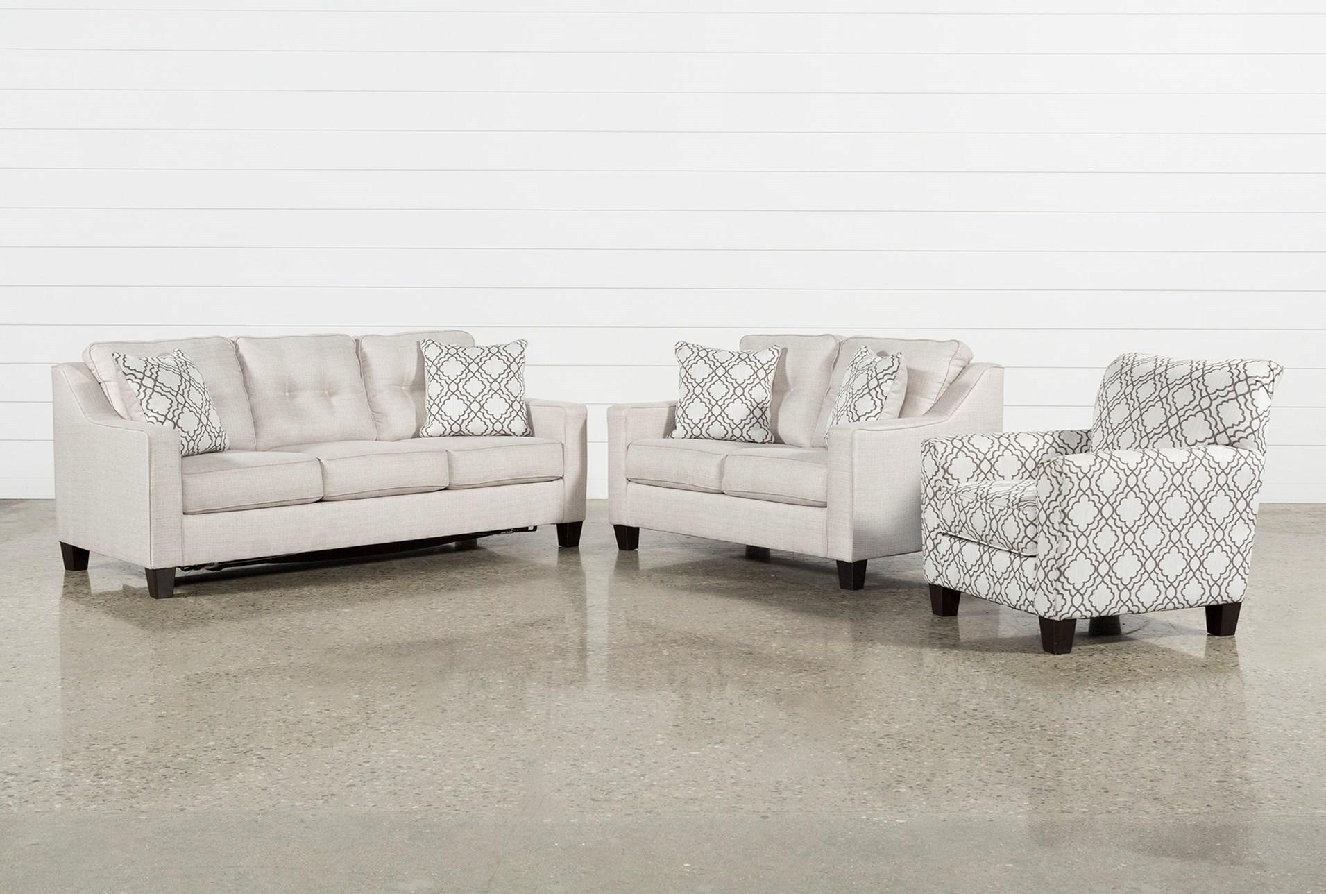 3 Piece Living Room Set Casta Products Pinterest Sofa And Small With Mcdade Ash Sofa Chairs (View 5 of 25)