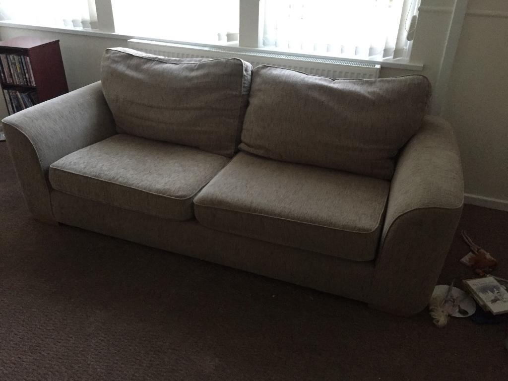 3 Seater Sofa And Arm Chair | In Plymouth, Devon | Gumtree Intended For Devon Ii Arm Sofa Chairs (Photo 1 of 25)