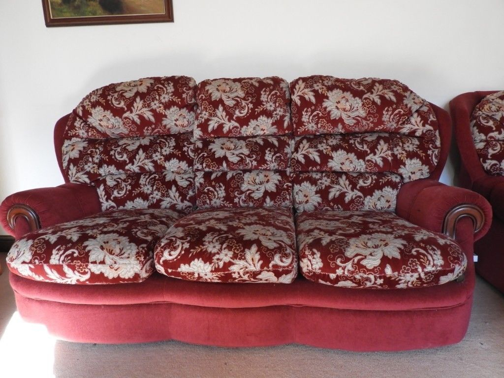 3 Seater Sofa And Two Arm Chairs | In Holsworthy, Devon | Gumtree Throughout Devon Ii Arm Sofa Chairs (Image 3 of 25)