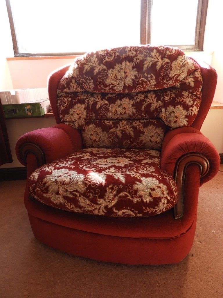 3 Seater Sofa And Two Arm Chairs | In Holsworthy, Devon | Gumtree Within Devon Ii Arm Sofa Chairs (Image 4 of 25)