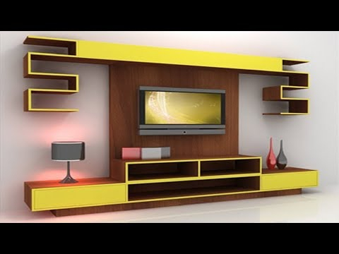 30 Mosdern Wall Mounted Led Tv Cabinet Designs 2017, Lcd Tv Stand Inside Best And Newest Led Tv Cabinets (View 4 of 25)