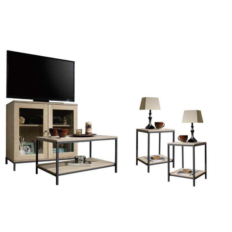 4 Piece Living Room Set With Storage Tv Stand, Coffee Table, And Set with Trendy Tv Stand Coffee Table Sets