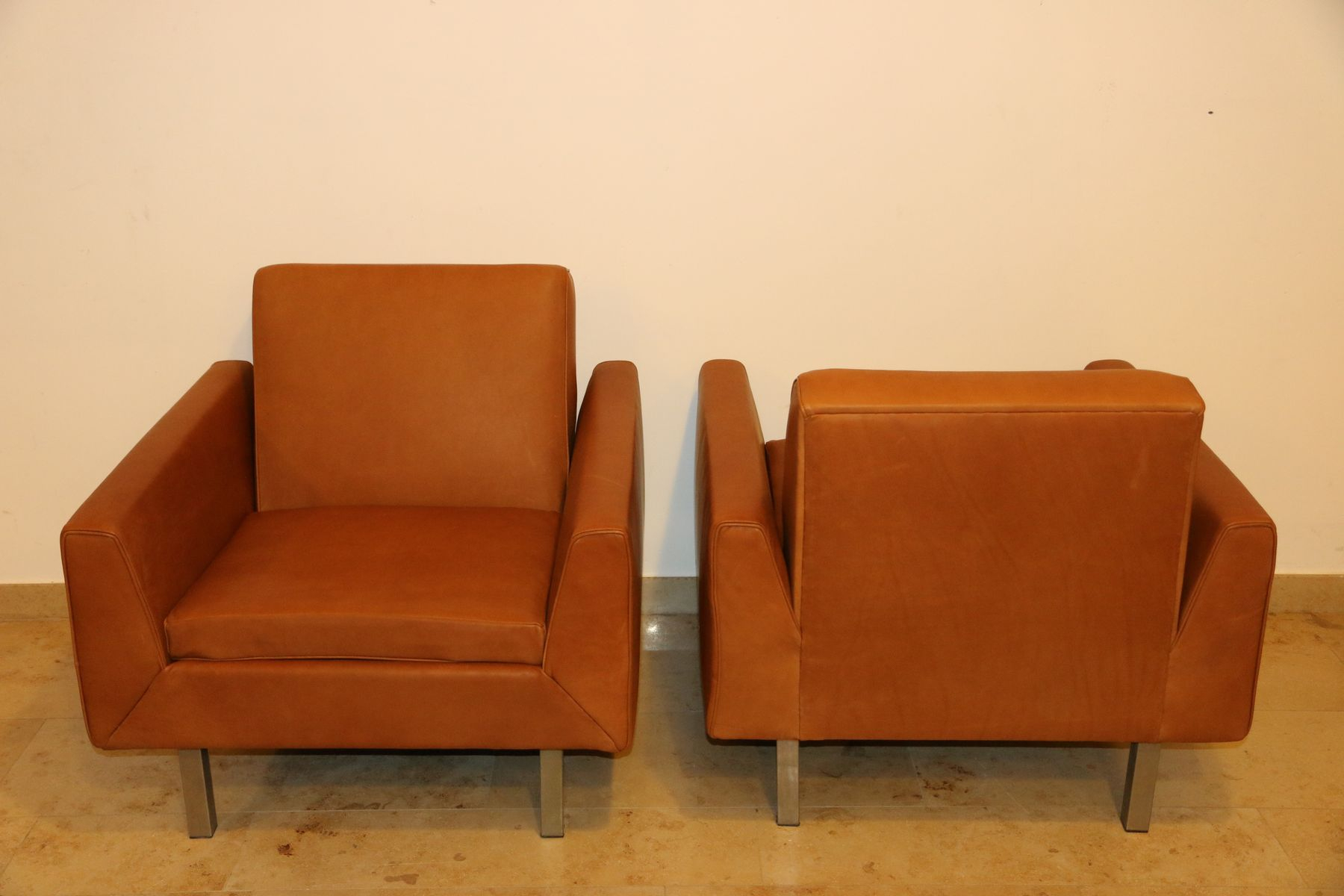 410 Club Chairstheo Ruth For Artifort, 1956, Set Of 2 For Sale intended for Theo Ii Swivel Chairs