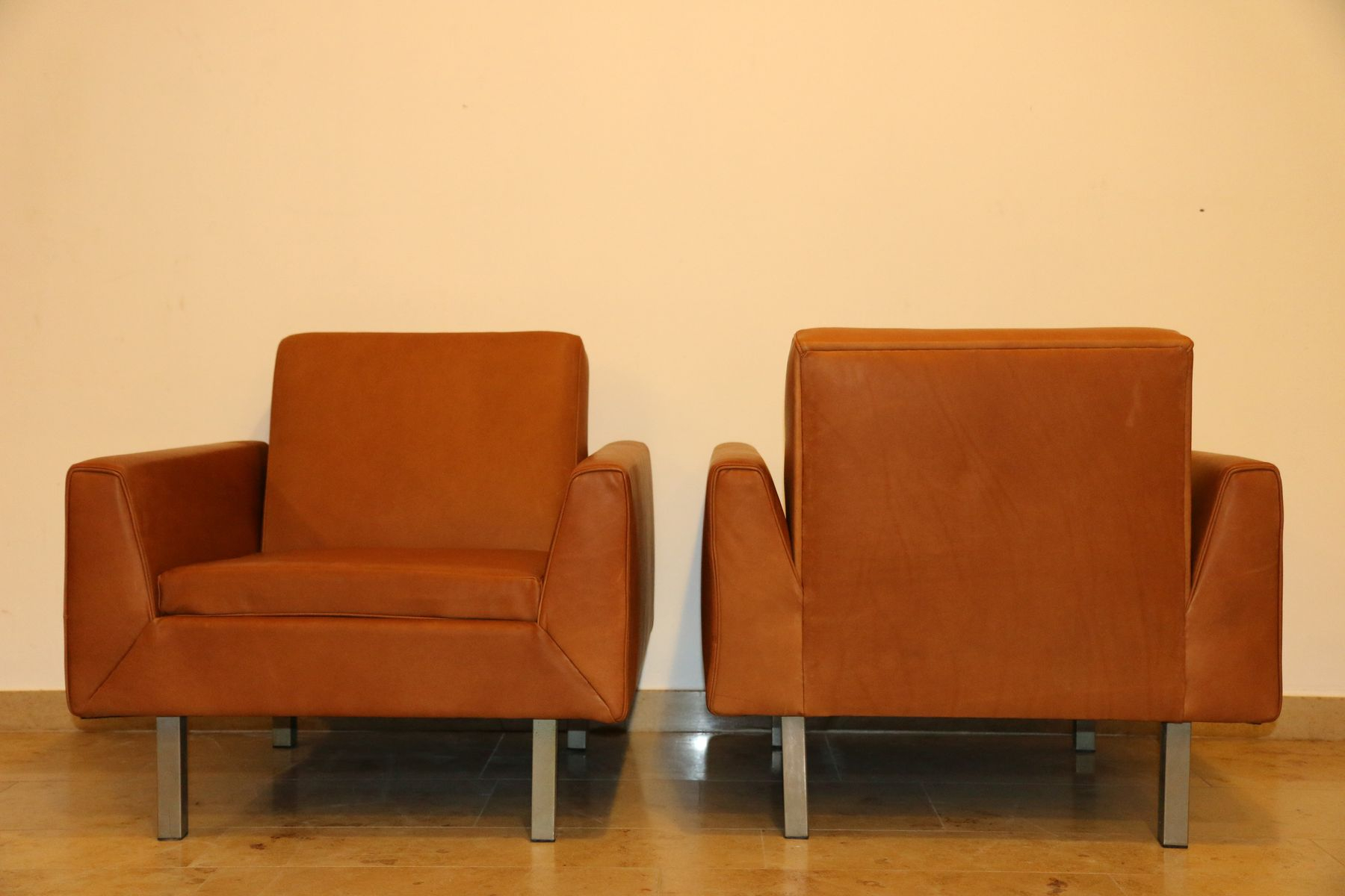 410 Club Chairstheo Ruth For Artifort, 1956, Set Of 2 For Sale with regard to Theo Ii Swivel Chairs