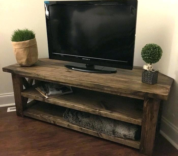42 Corner Tv Stand Swivel Stand Inch With Corner Stand Inch intended for Well known Corner Tv Cabinet With Hutch