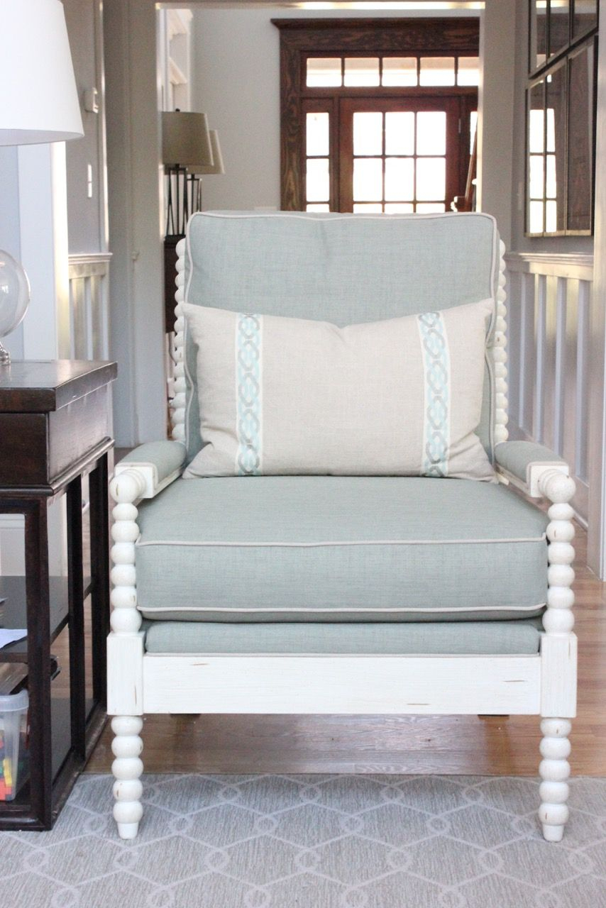 5 Favorite Features Of The Bobbin Spindle Chair | House & Home throughout Loft Smokey Swivel Accent Chairs