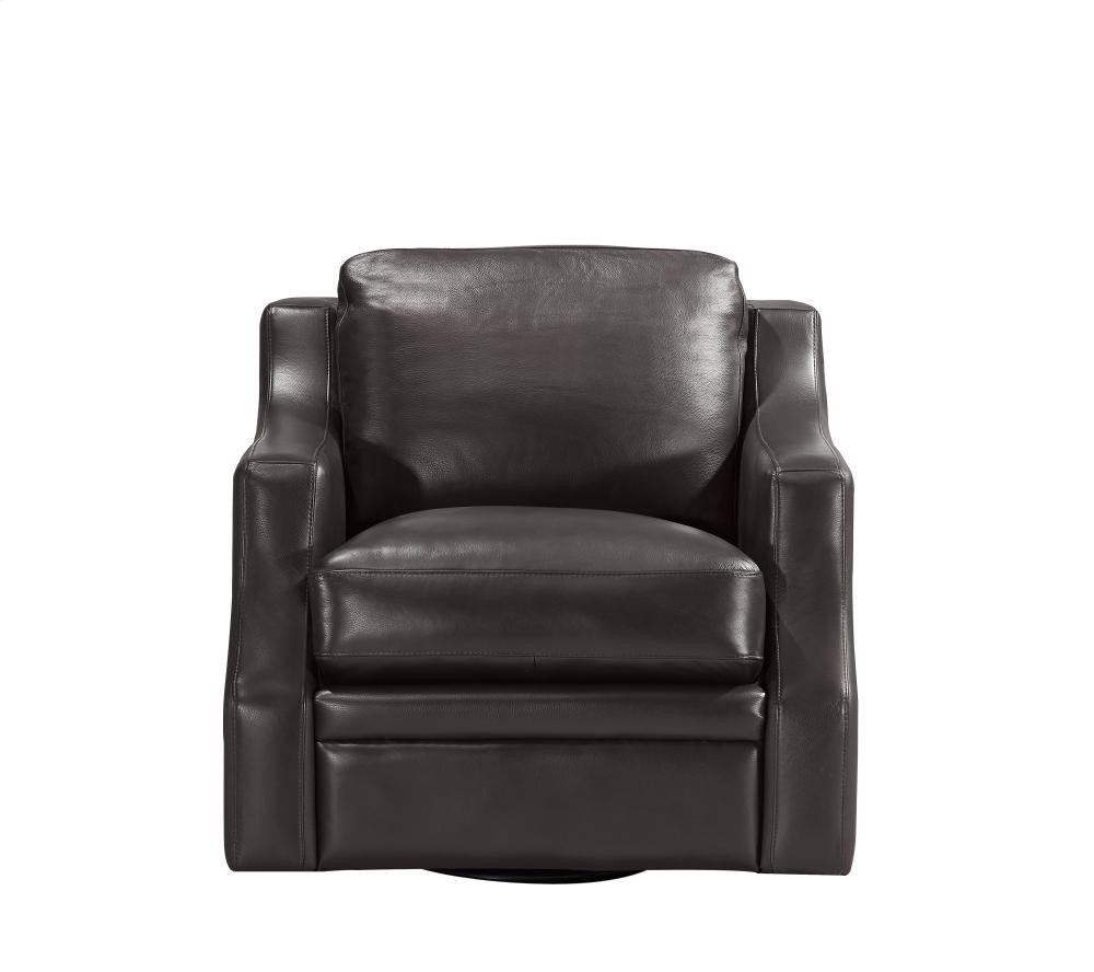 6106 Grandview Swivel Chair Sc004 Espresso | 16696106S01Sc004 With Regard To Espresso Leather Swivel Chairs (Photo 5 of 25)