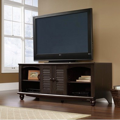 62 Inch Antique Black Tv Stand – Harbor View (View 5 of 25)