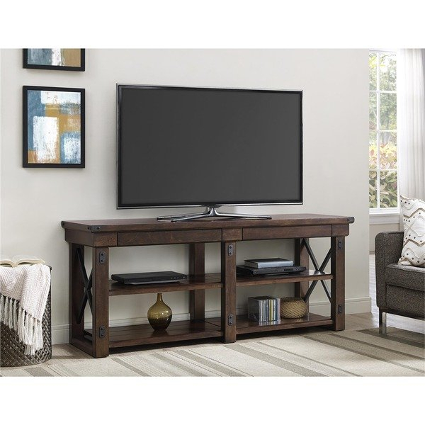 65 Inch Tv Stand throughout Most Current Melrose Titanium 65 Inch Lowboy Tv Stands