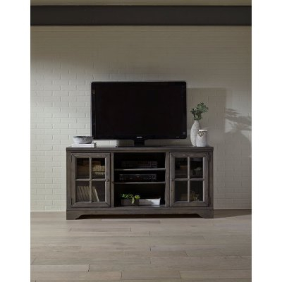 66 Inch Modern Contemporary Gray Tv Stand – Newport (Image 4 of 25)