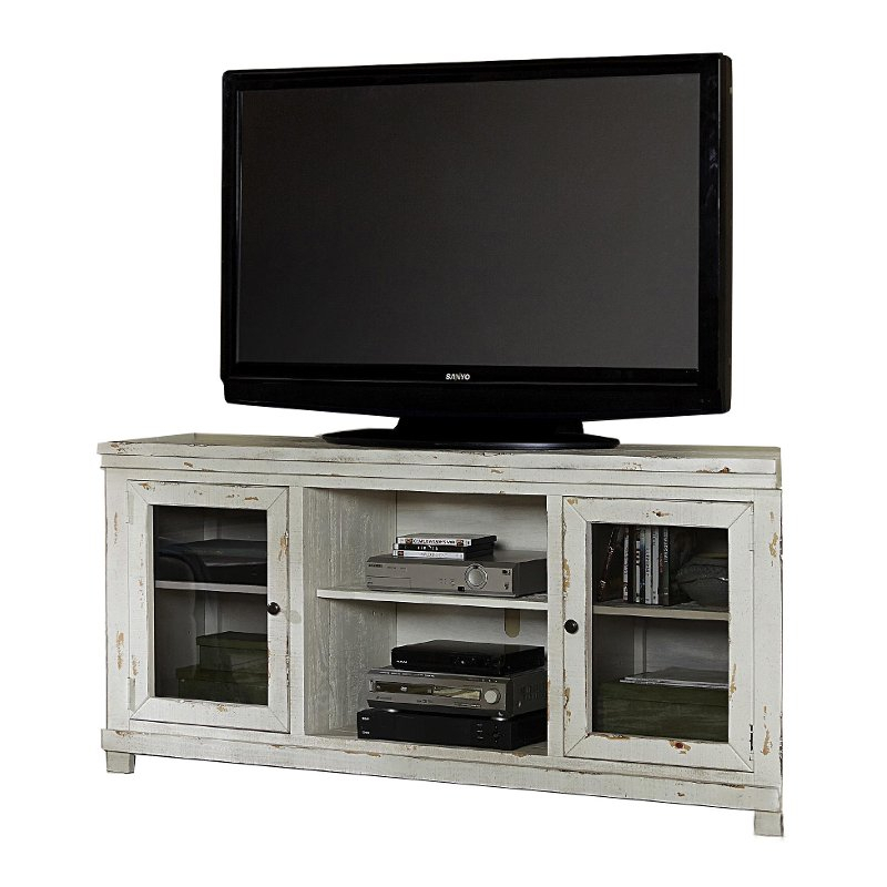 68 Inch Distressed White Tv Stand – Willow (Photo 7176 of 7746)