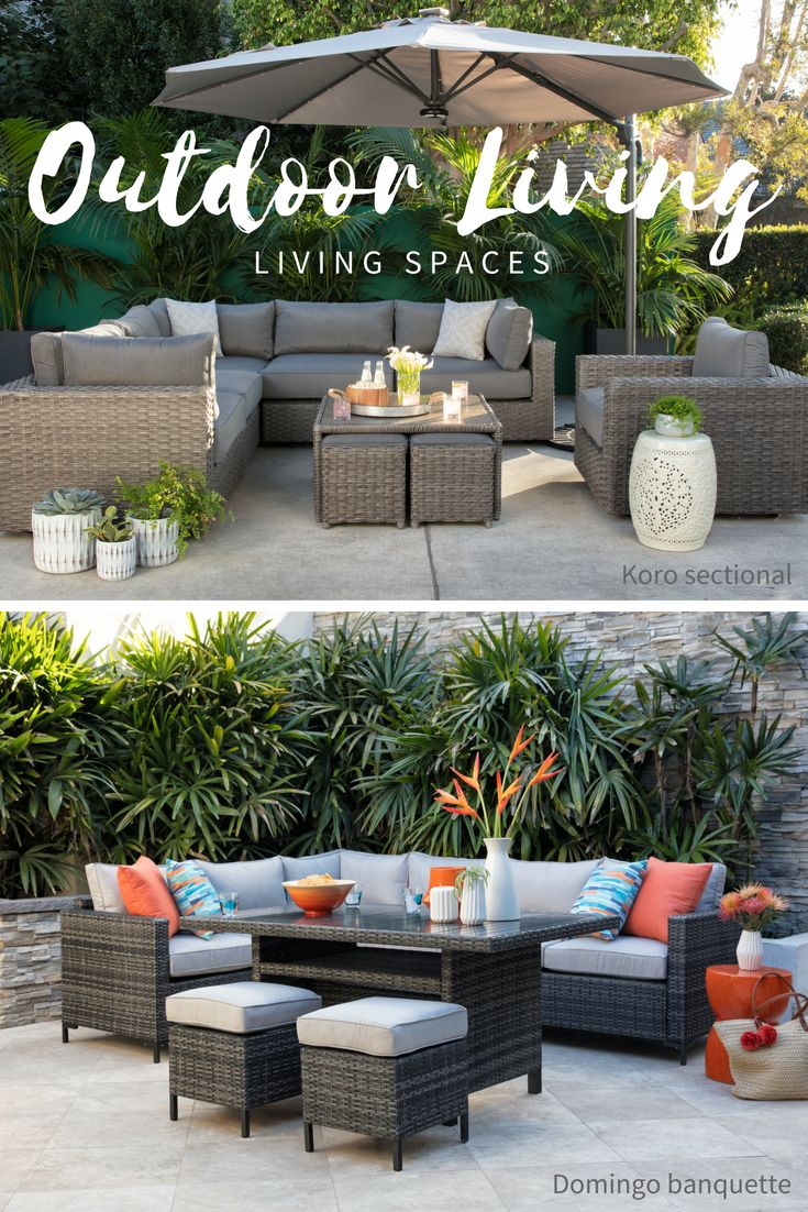 7 Best Patio Images On Pinterest intended for Outdoor Koro Swivel Chairs