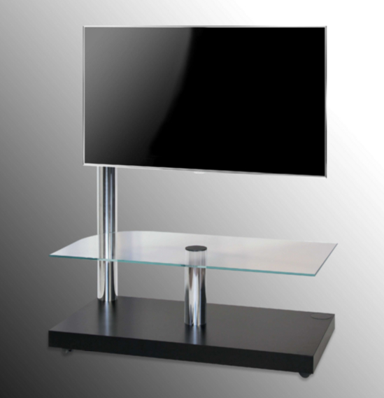 7 Glass Tv Stands For A Contemporary Living Room - Cute Furniture Uk pertaining to Recent Noah 75 Inch Tv Stands