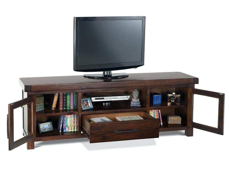 74 Tv Console Harbor View Linen Entertainment Wall With Console intended for Well-liked Canyon 74 Inch Tv Stands