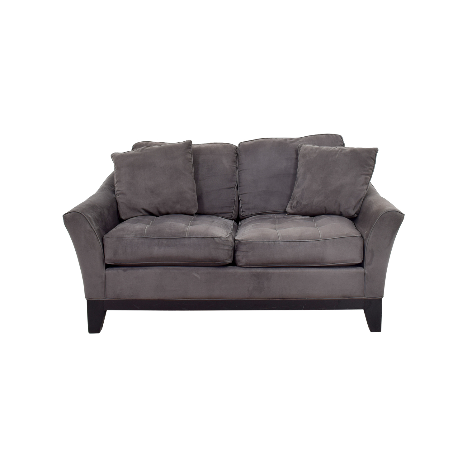 75% Off - Raymour & Flanigan Raymour & Flanigan Rory Slate in Rory Sofa Chairs