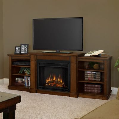 "75"" Tv Stand With Electric Fireplace The for Well-liked Wakefield 67 Inch Tv Stands"