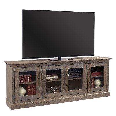 80 Inch Distressed White Tv Stand – Prisma (Image 5 of 25)