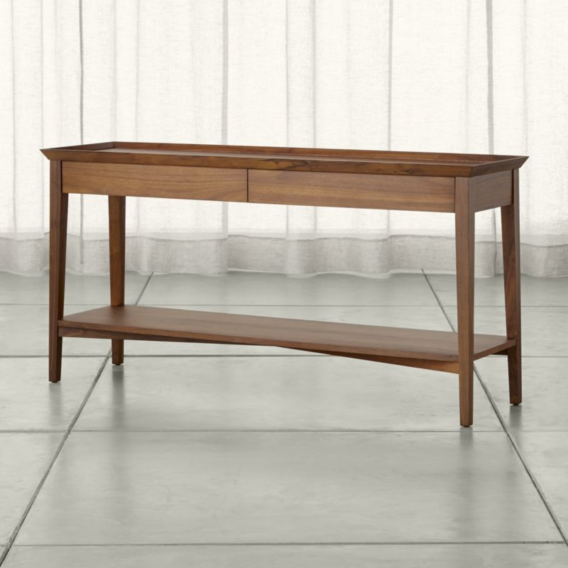 84 Console Table Crate And Barrel Console Table Craigslist Black With Regard To 2018 Silviano 84 Inch Console Tables (Image 3 of 25)