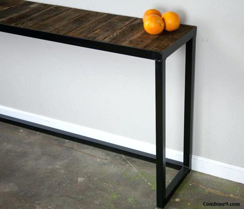 84 Console Table Modern Console Table Best Glass Console Table Throughout Trendy Silviano 84 Inch Console Tables (Image 4 of 25)
