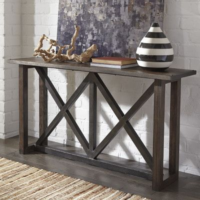 850 Entryway throughout Well-liked Parsons Clear Glass Top & Elm Base 48X16 Console Tables