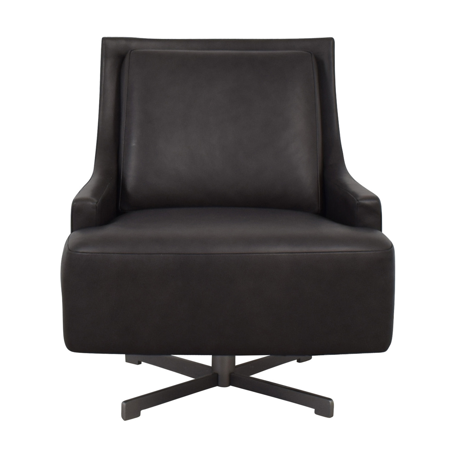 86% Off - Hbf Hbf Dark Grey Swivel Lounge Chair / Chairs with Dark Grey Swivel Chairs