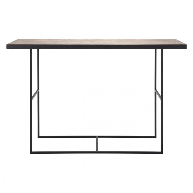 A10725 – Forest Console Table Black For Preferred Scattered Geo Console Tables (Image 3 of 25)