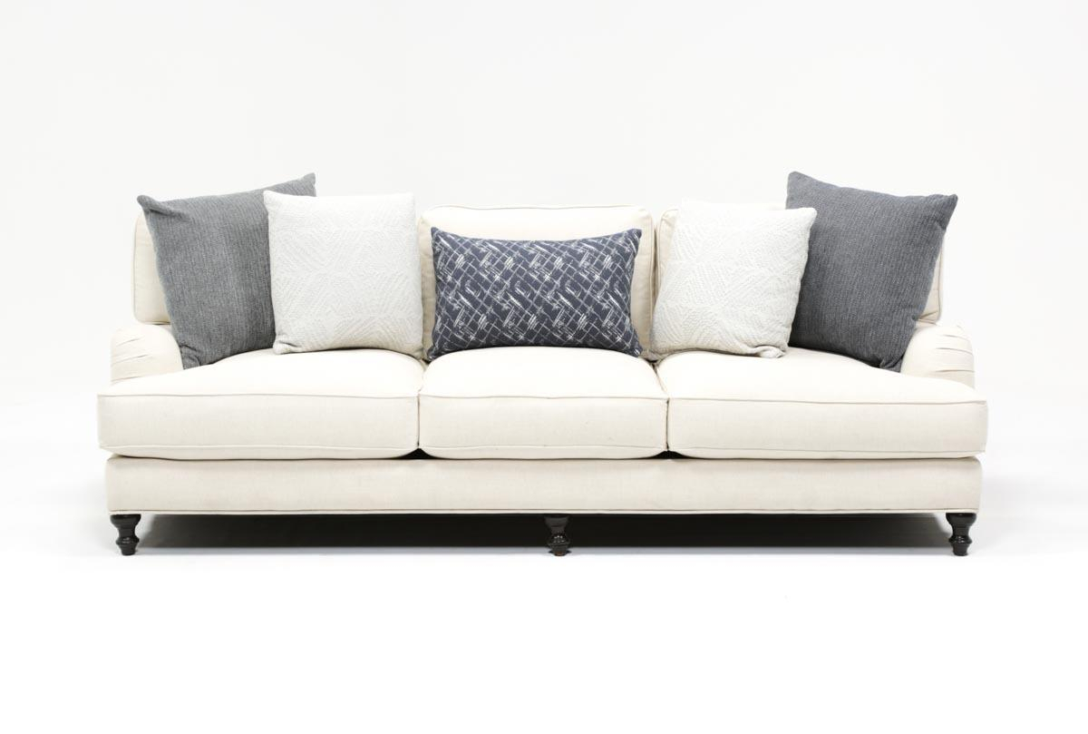 Abigail Sofa | Living Spaces pertaining to Abigail Ii Sofa Chairs